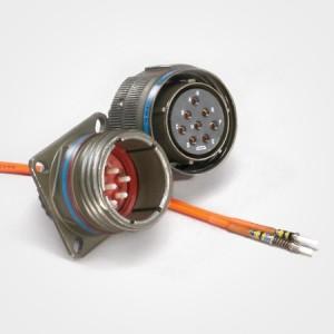 D38999 Type Fiber Optic Connectors