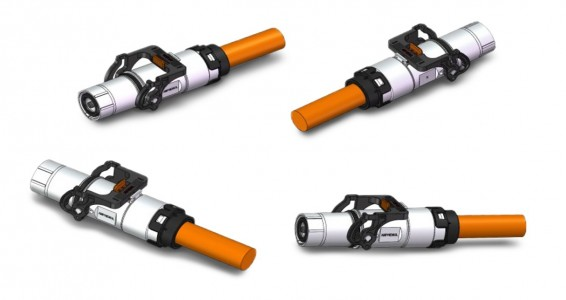 450A HV Power Cable Assembly