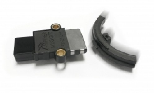 Variable air gap touchless sensor