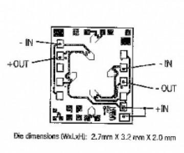 Medium Pressure Sensor Die – P112   NovaSensor